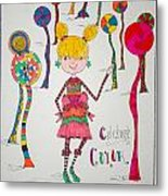 Celebrating Color Metal Print by Mary Kay De Jesus