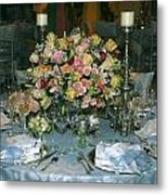 Celebration Table Metal Print