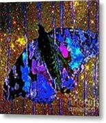Celestial Butterfly Metal Print