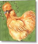 Celestial Chicken Sweet Potato Metal Print