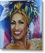 Celia Cruz Metal Print
