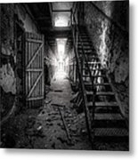Cell Block - Historic Ruins - Penitentiary - Gary Heller Metal Print