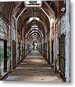Cell Block One Metal Print