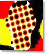 Cell Electrodes Metal Print