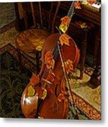 Cello Autumn 1 Metal Print