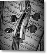 Cello Classic Art Metal Print