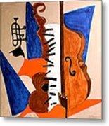 Cello II Metal Print