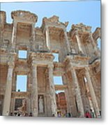Celsus Library In Ephesus Metal Print