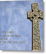 Celtic Blessing 2 Metal Print