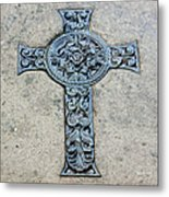 Celtic Cross IIi Metal Print