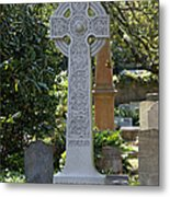 Celtic Cross Of Charleston  Metal Print
