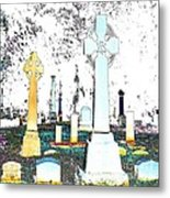 Celtic Crosses Metal Print
