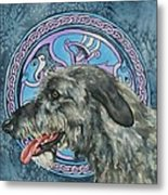 Celtic Hound Metal Print