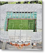 Celtic Park Stadia Art - Celtic Fc Metal Print