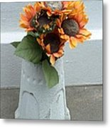 Cemetary Flowers 1 Metal Print