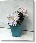 Cemetary Flowers 3 Metal Print