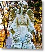 Cemetery Angel Metal Print