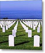 Cemetery At Waterfront, Fort Rosecrans Metal Print