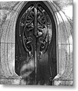 Cemetery Door 1 Metal Print