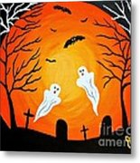 Cemetery Ghosts Metal Print
