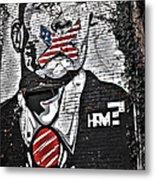Censorship Expressed Mural Metal Print
