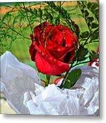 Centenary Rose Metal Print