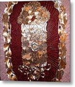 Center Detail Cynthia's Banner Metal Print by Dan A  Barker