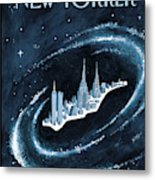 Center Of The Universe Metal Print