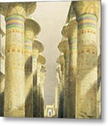 Central Avenue Of The Great Hall Of Columns Metal Print