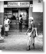 Central Bakery St. Lucia Metal Print