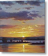 Central Coast Sunset Metal Print