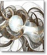 Central Core Metal Print