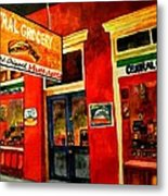 Central Grocery Metal Print