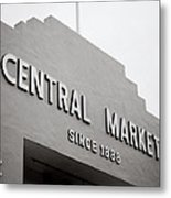 Central Market Metal Print