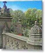 Central Park Bathsheba Terrace 3 Metal Print