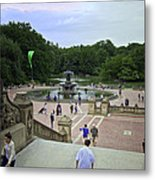 Central Park - Bethesda Fountain Metal Print