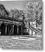 Central Park - Near Bethesda Fountain Metal Print