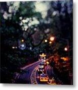 Central Park Nights Metal Print