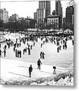 Central Park Winter Carnival Metal Print