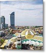 Central Phnom Penh In Cambodia Metal Print