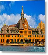 Central Railroad Of New Jersey Terminal Metal Print