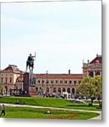 Central Railway Station Zagreb Metal Print