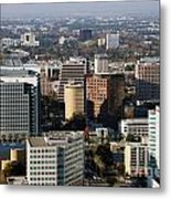 Central San Jose California Metal Print