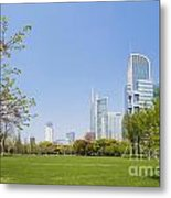 Central Shanghai In China Metal Print