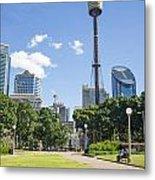 Central Sydney Park In Australia Metal Print