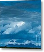 Central Valley Clouds Metal Print