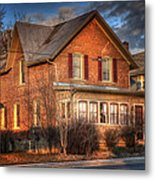 Centre St South Of The River Metal Print