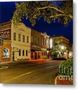 Centre Street Downtown Fernandina Florida Metal Print