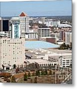 Century II Convention Hall And Hyatt Metal Print