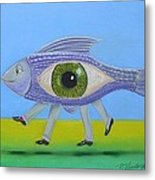 Ceo Fish Metal Print